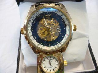 Wunderschöne Minoir Loudun Automatik Herrenuhr,  Aus Meine Uhren Sammlung Bild