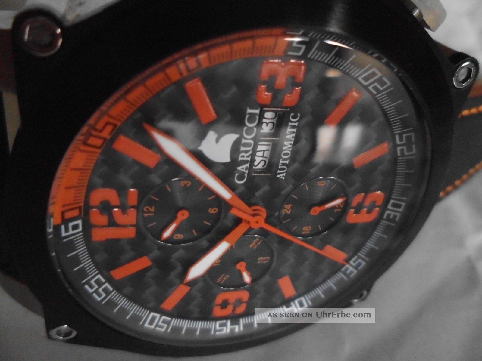 Autoamtik Flieger - Pilot - Carucci - Automatic (u - Boat Style) Neuwertig Armbanduhren Bild