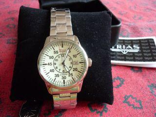 Armbanduhr Trias - - Fliegeruhr - - Neuwertig - Automatik Bild