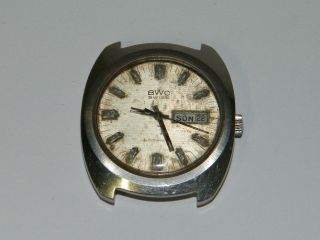 Bwc Swiss Automatic,  Herren Hau Vintage Wrist Watch,  Repair,  Patina,  Cal 2780 Eta Bild