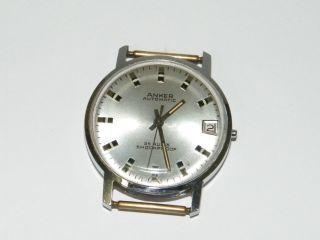 Anker Ultramatic Automatic,  Armbanduhr Herren,  Hau Wrist Watch,  Repair,  Cal.  25 Rubis Bild