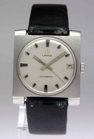 Lanco Automatic Armbanduhr Mit Datum Bild