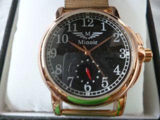 Wunderschöne Minoir Corbie Automatik Herrenuhr,  Aus Meine Uhren Sammlung Bild