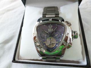 Massiv British Racing Club Automatik Herrenuhr,  Aus Meine Uhren Sammlung Bild