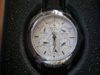 Verkaufe Neuwertige Trias Automatik - Uhr,  Weltzeituhr Ungetragen Bild