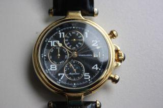 Windgassen Herren Armbanduhr Uhr Mit Automatikwerk Automatikuhr Schwarz Gold Bild