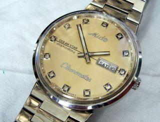 Mido Ocean Star Datoday Chronometer Hau Bild