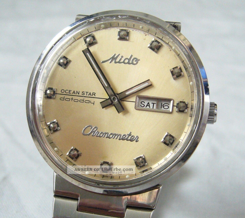 6313b960111 Mido Ocean Star Datoday Chronometer Hau