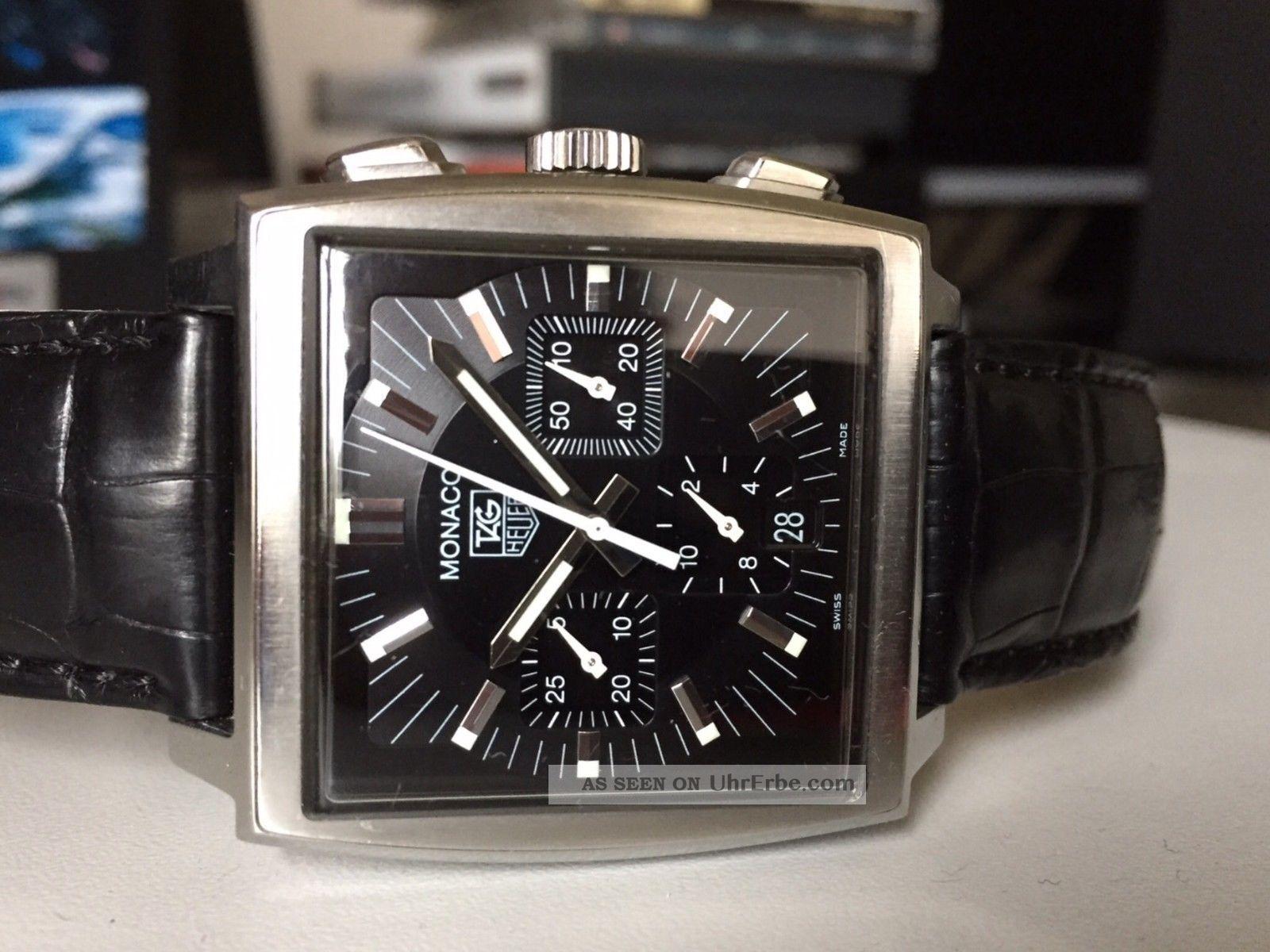Tag Heuer Monaco Cw2111 Armbanduhr Für Herren Armbanduhren Bild