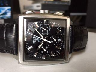 Tag Heuer Monaco Cw2111 Armbanduhr Für Herren Bild