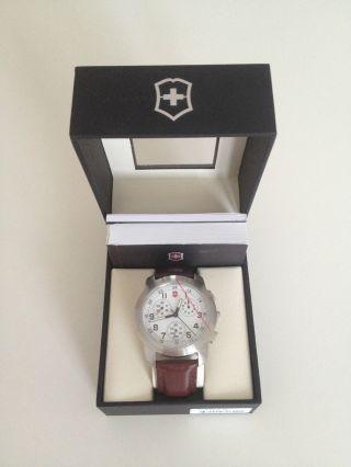 Herren Armbanduhr Victorinox Swiss Army 26049.  Cb Incl Originalverpackung Bild