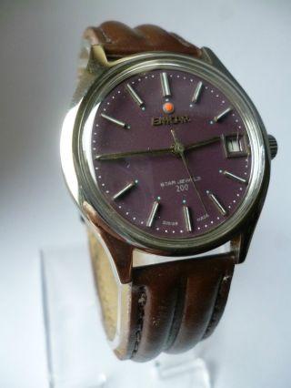Rare Enicar Star Jewels 200 Date Handaufzug,  Vintage, Bild