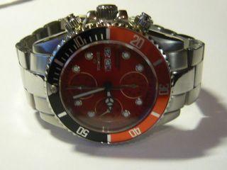 Feinwerk Chronometer Saphir Glas 5atm Automatic Top Sehr Wenig Getragen Np 359€ Bild
