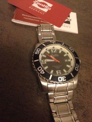 Zentra Herren Armbanduhr / Taucheruhr Automatic Professional Diver Bild