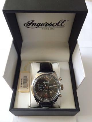 Ingersoll Herren Armbanduhr - In2817bk Automatik Luxus Uhr Bild