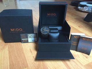 Mido Multifort Black Special Bild