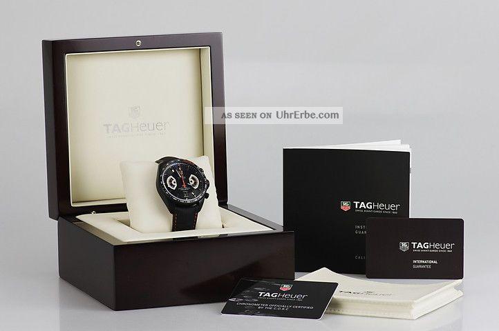 Tag Heuer Armbanduhr Herren Uhr Grand Carrera Watch Cav518k - Fc6268 2 J. Armbanduhren Bild