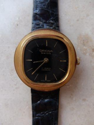 Oriosa - Damen - Armband - Uhr - Swiss - Vergoldet Bild