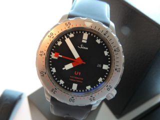 Sinn U1 - Komplettset Aus 2006 Inkl.  5 Armbänder - Stahl Tegi - Stahl 3x Silikon Bild