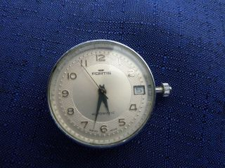 Fortis Analog,  Datumanzeige,  Automatik Mit Glasboden Armbanduhr Herren Damen Bild