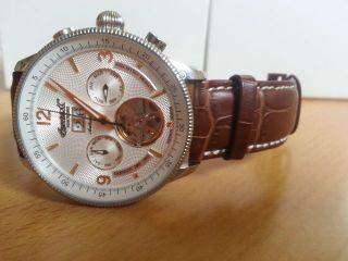 Ingersoll Armbanduhr Neuschanstein Mit Lederarmband Braun Bild