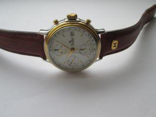 Jean Marcel Automatic Chronograph Cal.  Valjoux 7750 Stahl / Gold Bild