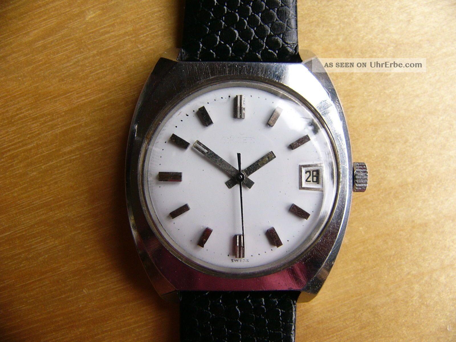 Herrenarmbanduhr Gruen Precision,  Automatic,  Kal.  Gruen 730 Ca,  60er/70er Jahre Armbanduhren Bild