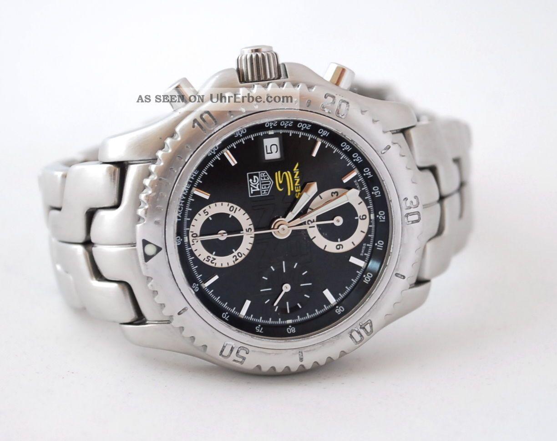 Tag Heuer Link Ayrton Senna Limited Edition Armbanduhren Bild