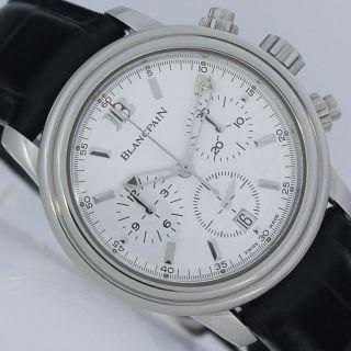 Blancpain Leman Automatik Chronograph Ø38,  5mm Edelstahl Uhr Bild