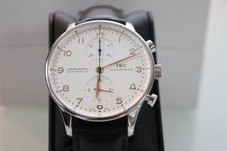 1 Iwc Portugieser Chronograph Aus 2005 Ref 3714 Herren Automatic 42 Mm Wie Bild