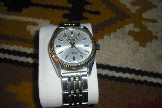 Ricoh Automatik 21 Jewels Vintage Uhr Herren Armbanduhr Voll Funktionsfähig Bild