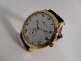 Jacques Lemans Armbanduhr Automatik Werk Eta 7001 Herrenuhr Kleine Sekunde Bild