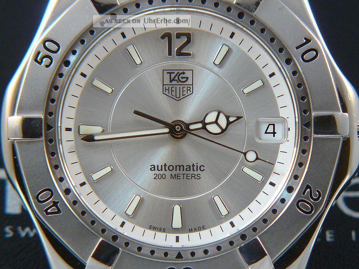 Tag Heuer 2000 Automatic Wk2116 Armbanduhren Bild
