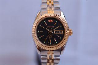 Orient Damenuhr Lady Uhr Star 3 Crystal Automatik Automatic - - Edelstahl/gg Bild