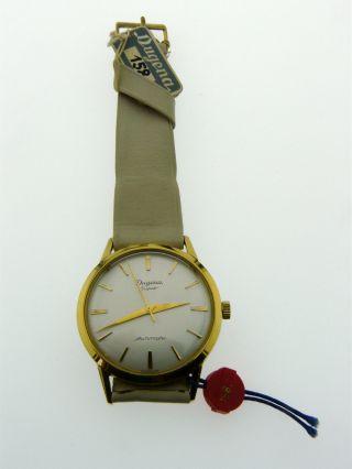 Seltene Dugena Armbanduhr Automatik Kal.  1000a Swiss Made Ungetragen Bild