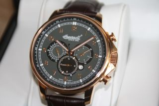 Ingersoll Russel Automatik Herren Uhr In3215rgy Limited Edition Wie Wow Bild