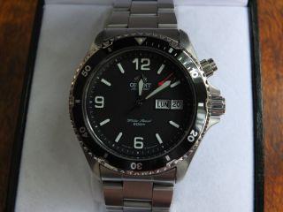 Orient Mako 5 Deep Cem65001b Automatik Diver Taucheruhr Bild