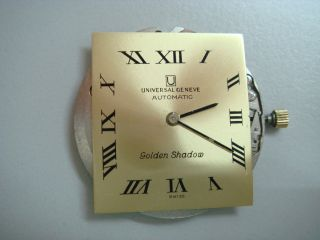 Universal Geneve Golden Shadow Automatic Movement Bild