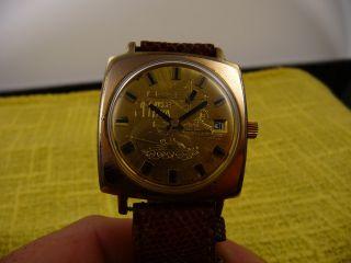 Gub Glashütte Armbanduhr 20 Jahre Nva Bild