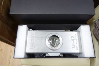 U - Boat U - 42 Automatic Uhr Mit Titan GehÄuse 53mm Limitiert 463/999 Bild