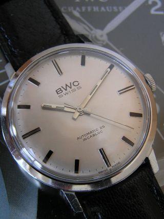 Klassische Bwc Swiss Automatic Herrenuhr Mit Eta 2451 Im Edelstahlgehäuse Bild