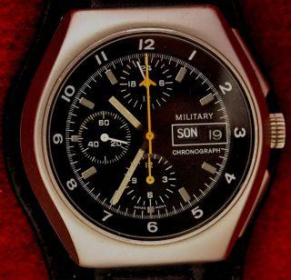 Tutima Military Chronograph Das Fliegerchronograph Lemania Bild