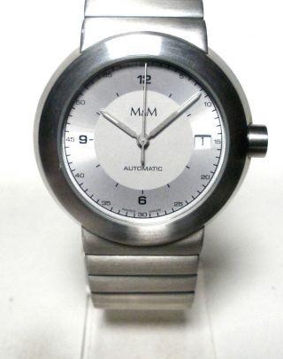M&m - Herren Automatic Armbanduhr - Ungetragen - Werk Eta 2824 - 2 - Swiss Made - Bild