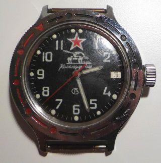 Komandirskie Vostok Russische Uhr Automatik 921306 Bild