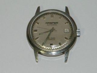 Kasper Automatic Vintage Wrist Watch,  Montre,  Saat Repair,  Cal.  1451 Bild