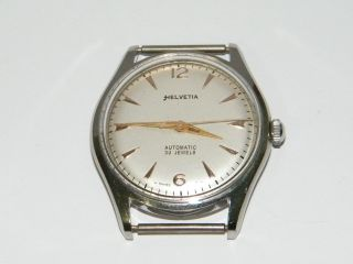 Helvetia Automatic Vintage Wrist Watch,  Montre Repair,  Cal.  H 34 Jewels Bild