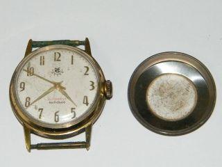 Re Watch Brevet Dem.  Automatic Vintage Wrist Watch,  Repair Bild