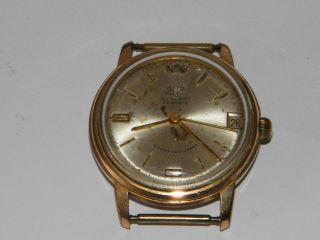 Glashütte Sa Gub Automatic,  Automatik Hau,  Vintage Wrist Watch,  Repair,  Kaliber 67.  1 Bild