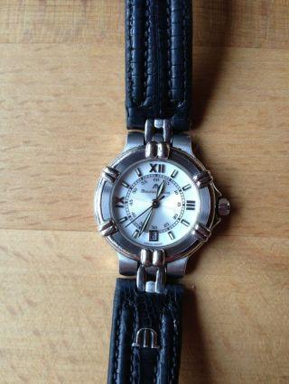 Maurice Lacroix - Uhr Schwarz - 75344 - Swiss Made Bild