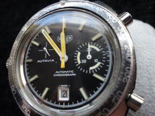 Vintage Heuer Autavia Chrograph Automatic - Cal.  15 Extrem Rar Bild